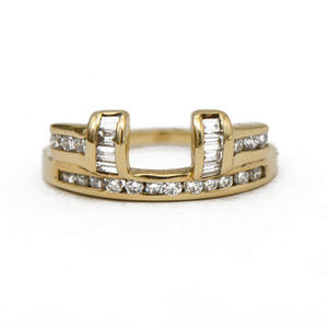 Classic Diamond Ring Enhancer Wrap